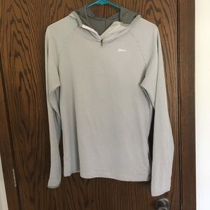 ASICS running hoodie - reflective!